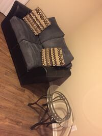 love seat & end table for sale