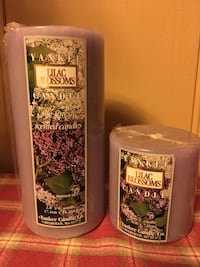 *REDUCED* WAS $8.00, NOW $5.00 Yankee Candle, Pillar candles Jackson, 39202
