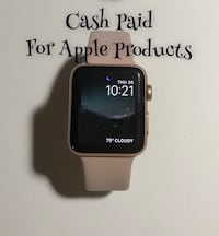 black Apple Watch with black sports band Ashburn, 20147