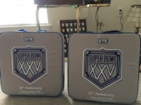 25th anniversary Super Bowl seat cushions. Goodie bags and tickets. Ny giants vs Buffalo Bills 1991 Isle of Palms, 29451