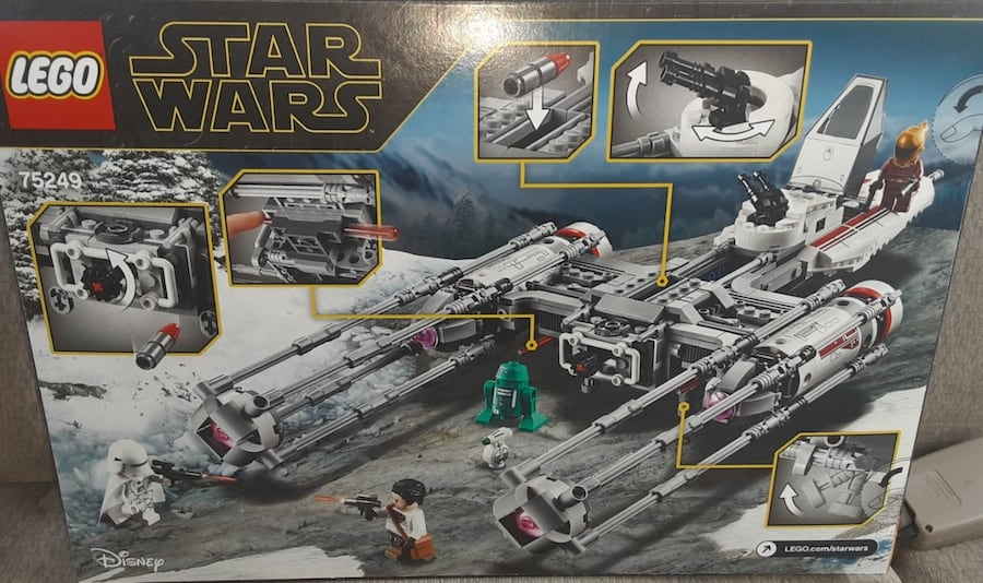 Used Unopened Lego Star Wars Rise Of Skywalker Y Wing Starfighter For Sale In Los Angeles Letgo