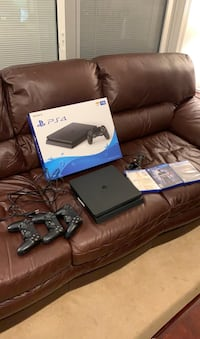 PS4 with 3 Controllers and Gamea