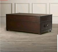 brown wooden 3-drawer chest Toronto, M6M 1L2