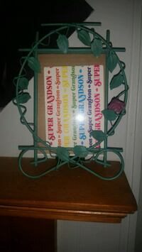 Metal beautiful picture frame 5x7