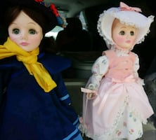 Collectable story book dolls. Many different ones. 35.00 ea.