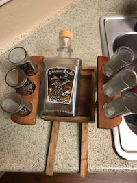 Shot glasses and matching jug from Cancun Rock Hill, 29732
