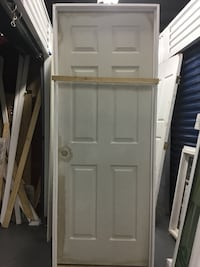 "29 3/4"" / 80"" 6 PANEL TEXTURED INTERIOR PREHUNG DOOR Philadelphia"