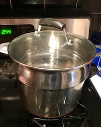 Pan and steamer - good condition