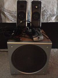 Logitech Speakers with Subwoofer Milton