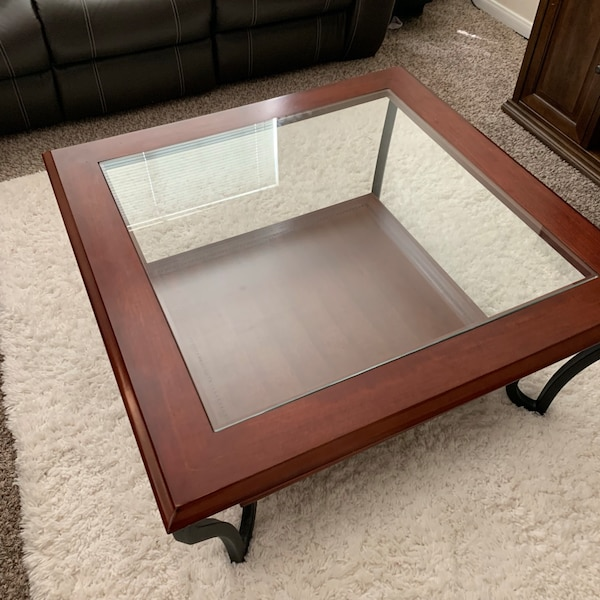 Used Ashley Furniture Coffee Table And End Tables For Sale In
