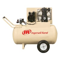 Brown Ingersoll Rand air compressor