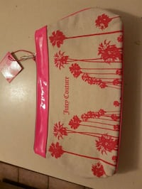 New Juicy Couture make-up bag..