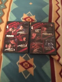 2 nightmares on elm street dvd all the movies 1-4 and5-8