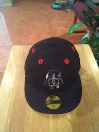 black and red fitted cap Las Vegas, 89110