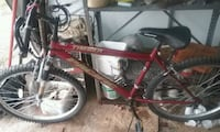 red Pacific hardtail mountain bike Granville, 12832