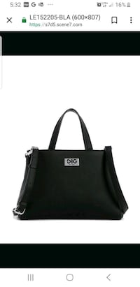 Black leather Guess purse  Surrey, V4N 5K4