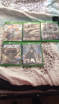 Four xbox one game cases Port Charlotte, 33952