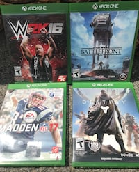 Four xbox one game Laval