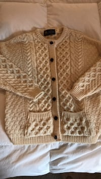 100% Wool Cardigan size sm/med Raleigh, 27617