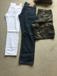 Mens jeans and shorts  Kitchener, N2C 2S1