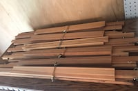 6 Wooden canvas easels