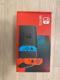 Bnib Nintendo switch Richmond, V6X 2A2
