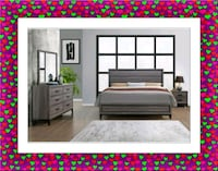 Grey Bedroom Set New with Mattress  Silver Spring, 20906