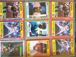 Over Hundreds of baseball cards perfect condition