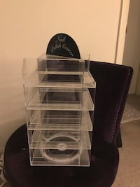 100 Bottle Nail Polish Holder Silver Spring, 20906