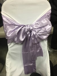 Lavender Chair bow sashes and table runners Whitchurch-Stouffville, L4A 5B8