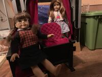American Girl Doll original Retired Molly and Emily stage and theater seats Warrenton, 20187
