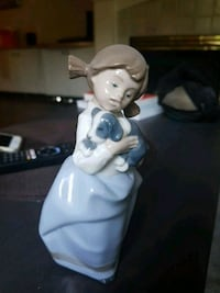 "Nao by Lladro ""Girl with Sleepy Puppy"" Vancouver, V6K 1R4"