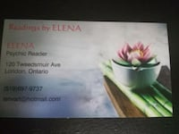 Psychic Readings by ELENA London