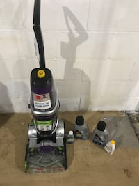 Used Once Bissell Carpet Cleaner. We have no carpet in our house!