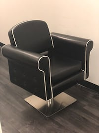 Black leather styling chair Los Angeles, 91367