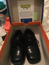 Boys black dress shoes 13.5 -only wore once Ocean Springs, 39564