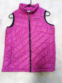 Pink Quilted Columbia Vest Size Large Womens Seattle, 98118