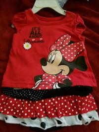 Mini mouse 2 piece outfit  Clear Brook, 22624