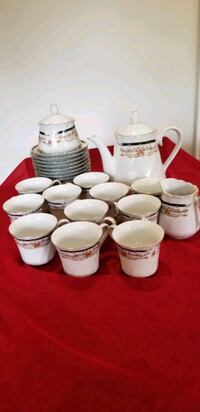 Vantage Tea Set .and extra piece ,made in Japan Richmond Hill, L4C 8N4