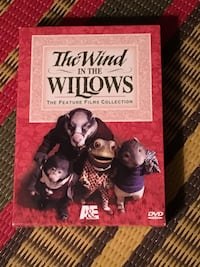 The Wind in the Willows Feature Films Collection 2 DVD box set