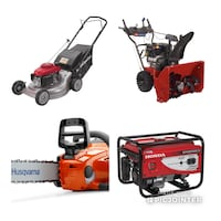 Free removal of unwanted gas powered equipment  Edmonton, T5Y 0M3