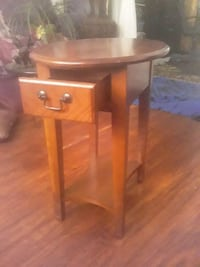 Solid wood home decor tables