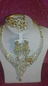 Rhinestone necklace Cheverly, 20785
