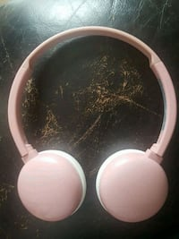 white and pink wirless headphones Onoway, T0E 1V0