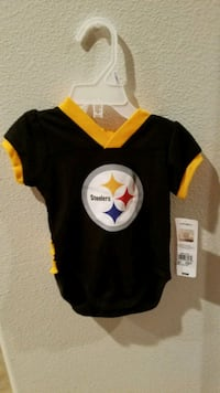 NFL Steelers Jersey Creeper 3-6 & 6-12 month Perris, 92571