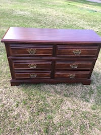 brown wooden 6-drawer lowboy dresser Roswell, 30075