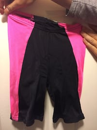 Black and pink exercise/ bicycle pants Alexandria, 22315