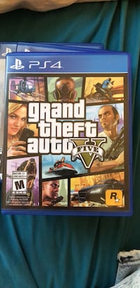 Grand Theft Auto 5 PS4 Richmond Hill, L4C 0J5