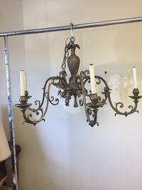 Antique bronze chandelier delivery available Toronto, M2R 3N1