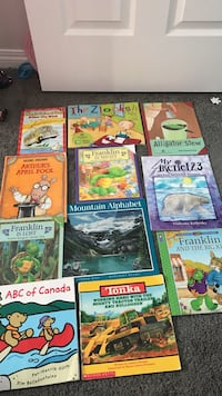Assorted titled book collection with box Chestermere, T1X 0P9